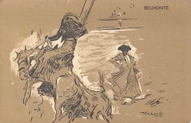 spof017123 - Belmonte, Artist Terrwell Bullfighting Postcard