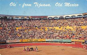 spof017133 - Tia Juana, Mexico,  Tarjeta Postal, Bullfighting Postcard