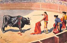 spof017134 - Bullfighting Postcard