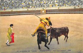 spof017135 - Corrida De Tores Bullfighting Postcard