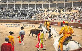 spof017136 - Corrida De Tores Bullfighting Postcard
