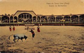 spof017143 - Plaza de Toros Lima (Puru), Tarjeta Postal, Bullfighting Postcard
