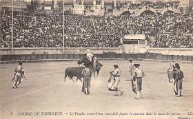 spof017151 - Course De Taureaux, Tarjeta Postal, Bullfighting Postcard