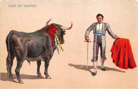 spof017157 - Pase De Tanteo Bullfighting Postcard