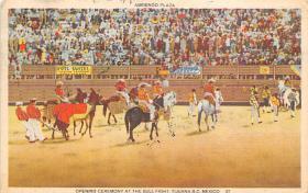 spof017164 - Tijuana, Mexico, Tarjeta Postal, Bullfighting Postcard
