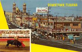 spof017166 - Tijuana, Mexico, Tarjeta Postal, Bullfighting Postcard