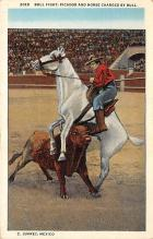 spof017175 - C. Juarez, Mexico, Bullfighting Postcard
