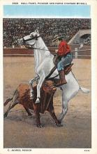 spof017183 - Juarez, Mexico, Bull Fighting Postcard