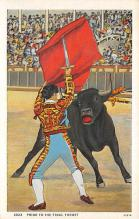 spof017184 - Bull Fighting Postcard Postcards