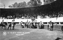spof017203 - En El Rancho Del Charro, Mexico City, Mexico, Bull Fighting Postcard