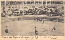 spof017204 - Juarez, Mexico, Bull Fighting Postcard