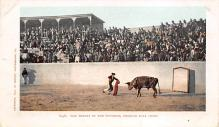 spof017210 - Mexico Bull Fight, Bullfighting Postcard