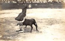 spof017219 - Guadalupe, Monterrey, Bullfighting Postcard, Real Photo