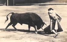 spof017221 - Balderas En El Toreo De Mexico, Bullfighting Postcard, Real Photo
