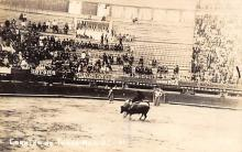 spof017222 - Corrida de Toros Mexico, Bullfighting Postcard, Real Photo