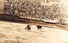 spof017224 - Corrida de Toros Mexico, Bullfighting Postcard , Real Photo