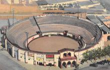 spof017226 - Bull Ring Bull Fighing, Bullfighting Postcard