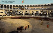 spof017231 - Bull Fight Bull Fighing, Bullfighting Postcard