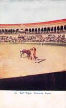 spof017254 - Bull Fight in Spain Bull Fighing, Bullfighting Postcard