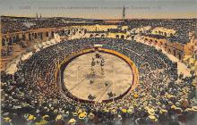 spof017260 - Illinois, USA Bull Fighting, Bullfighting Postcard