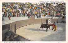 spof017266 - Nuevo Laredo, Mexico Bull Fighting, Bullfighting Postcard