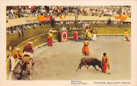 spof017275 - Bull Ring, Plaza de Toros Tarjeta Postal Bullfighting Postcard
