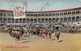spof017294 - Entrada de la Cuadrilla Tarjeta Postal Bullfighting Postcard