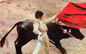 spof017295 - Pase Por Los Altos Tarjeta Postal Bullfighting Postcard
