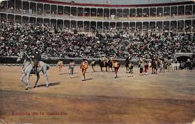 spof017298 - Entrada de la Cuadrilla Tarjeta Postal Bullfighting Postcard