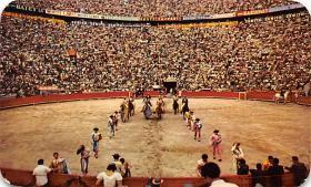 spof017299 - El Paseo de as Cuadrillas Tarjeta Postal Bullfighting Postcard
