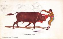 spof017307 - The Quick Stab Tarjeta Postal Bullfighting Postcard
