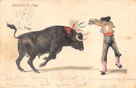 spof017317 - Banderillas De Fuego Tarjeta Postal Bullfighting