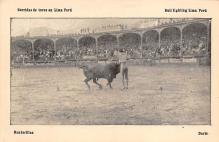 spof017321 - Banderillas, Bull Fighting Lima Peru Tarjeta Postal Bullfighting