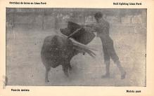 spof017324 - Pase de Mulets, Bull Fighting Lima Peru Tarjeta Postal Bullfighting