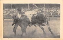 spof017329 - Bull FIghting Tarjeta Postal Bullfighting