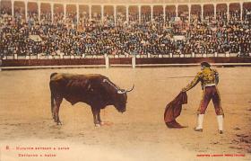 spof017334 - Matador Entrant a Matar Tarjeta Postal Bullfighting