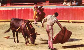 spof017336 - Toros En Mexico Tarjeta Postal Bullfighting