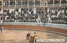 spof017337 - The Callenge of the Cloak Tarjeta Postal Bullfighting