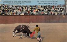 spof017343 - The Callenge of the Matador, Plaza de Toros Tarjeta Postal Bullfighting