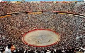 spof017375 - La Plaza Mexico, Bullring Tarjeta Postal Bullfighting