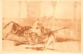 spof017386 - Cogid de un moro estando en la Plaza, Museo del Prado Bullfighting