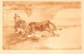 spof017389 - Desgraciada muerte de Pepe Hillo en la Plaza de Madrid, Museo del Prado Bullfighting