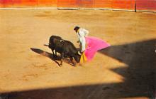 spof017396 - Bullfight in Old Mexico, Veronica Tarjeta Postal Bullfighting