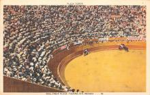 spof017399 - Plaza Toros, Bull Fight Plaza Tarjeta Postal Bullfighting