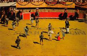 spof017404 - Plaza de Toros Tarjeta Postal Bullfighting