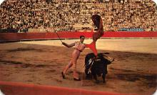 spof017411 - El Pase De Pecho, The chest pass executed by matador Julio Aparicio Bullfighting