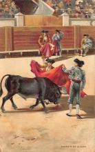 spof017432 - Capro a la Alimon Tarjeta Postal Bullfighting