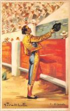 spof017434 - El Brindis Tarjeta Postal Bullfighting
