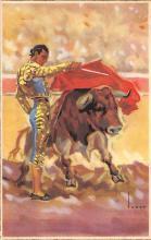 spof017436 - Pase por Alto Tarjeta Postal Bullfighting