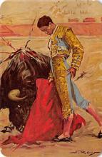spof017450 - El Trincherazo, The Trincherazo Pass Tarjeta Postal Bullfighting